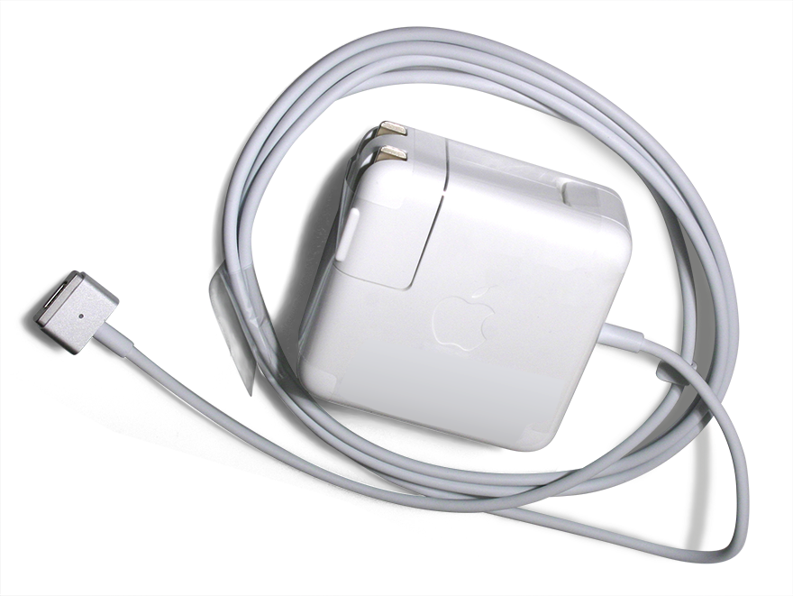 Apple Power Cord : Genuine apple w magsafe power a end  am