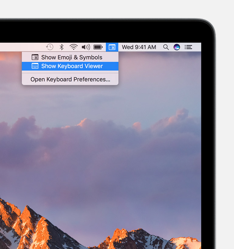 home key on apple mac
