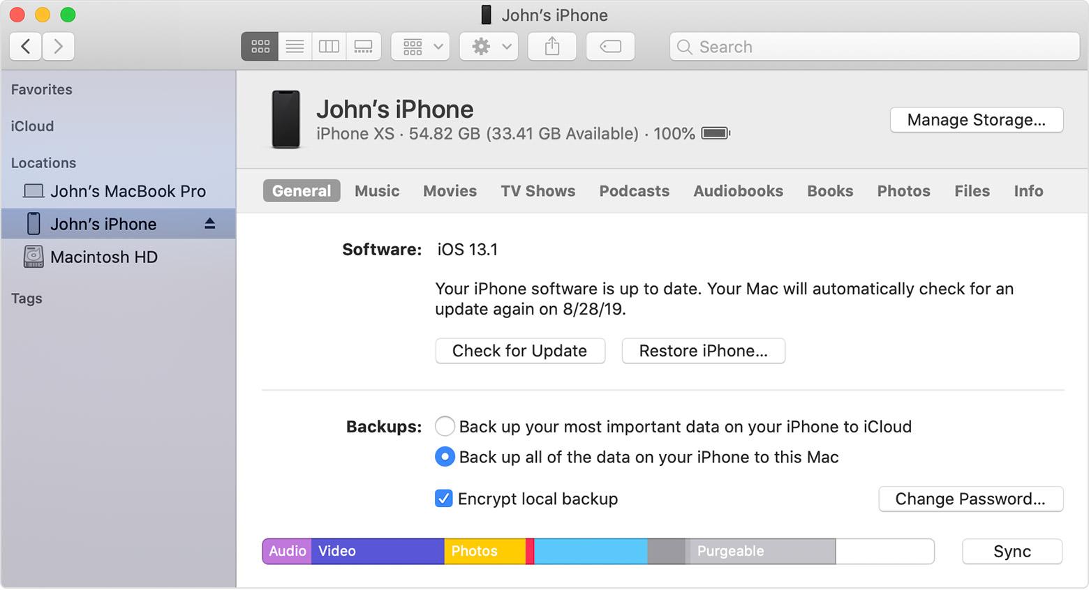 Iphone сбросить пароль