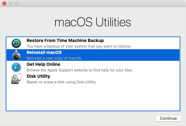 Image result for macbook reinstall os