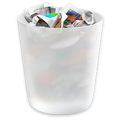 macOS Trash icon