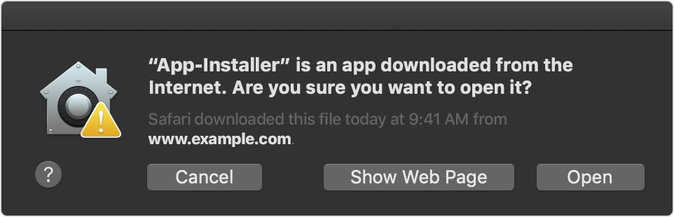 Safely open apps on your Mac - Apple Support
