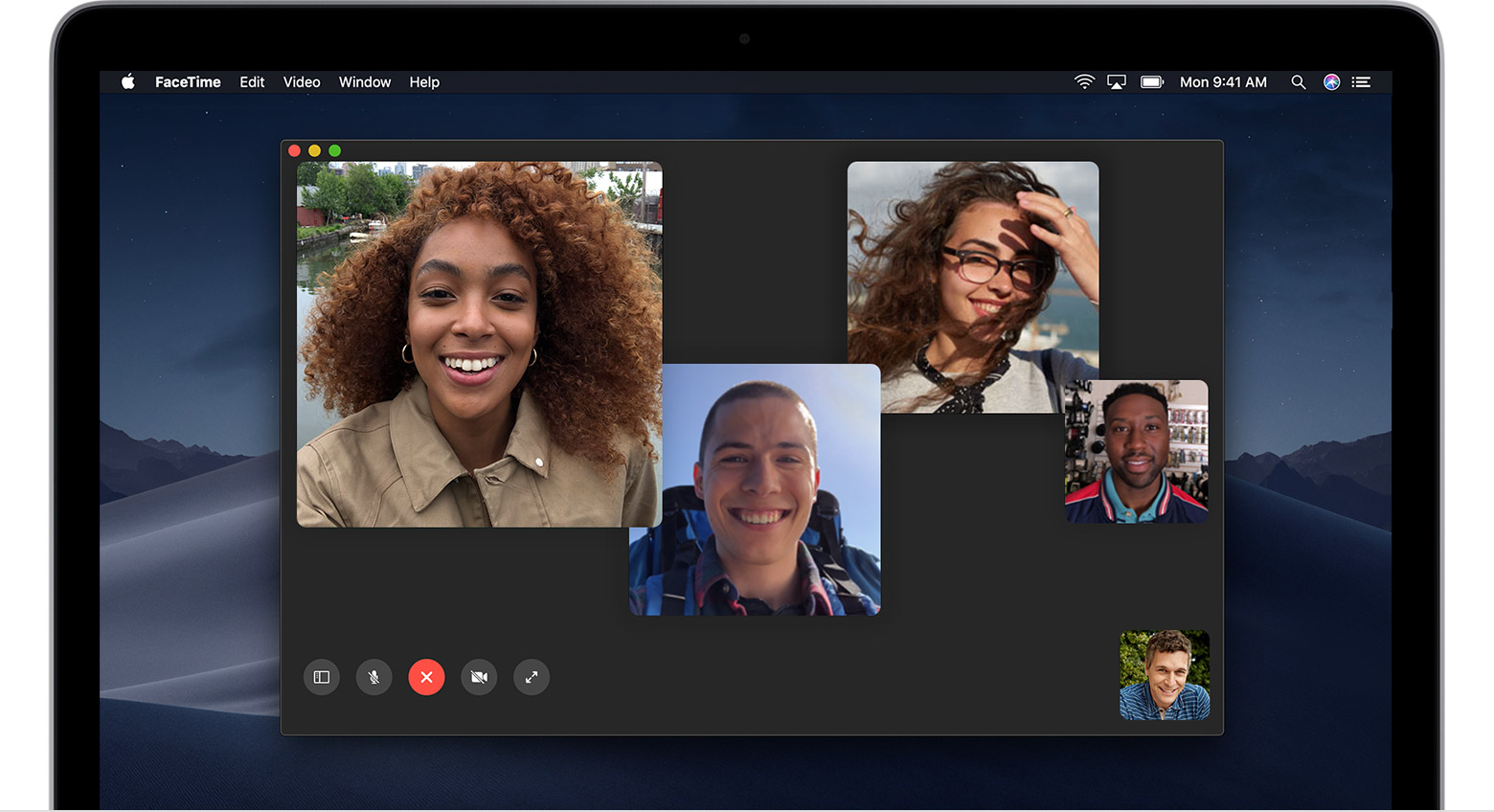 Use Facetime On Your Mac Apple Support