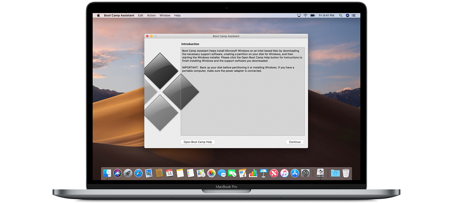 Install Windows 10 On Your Mac With Boot Camp Assistant Apple