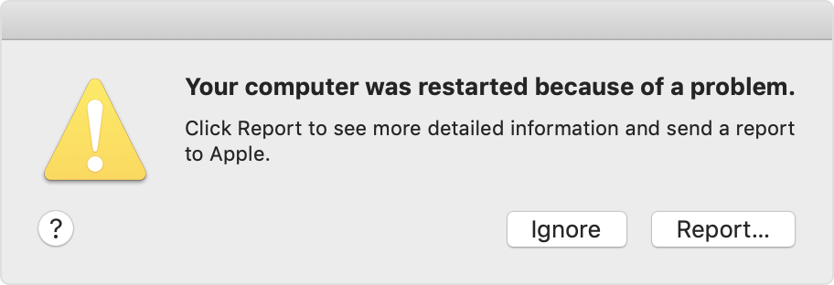 mac keeps restarting el capitan
