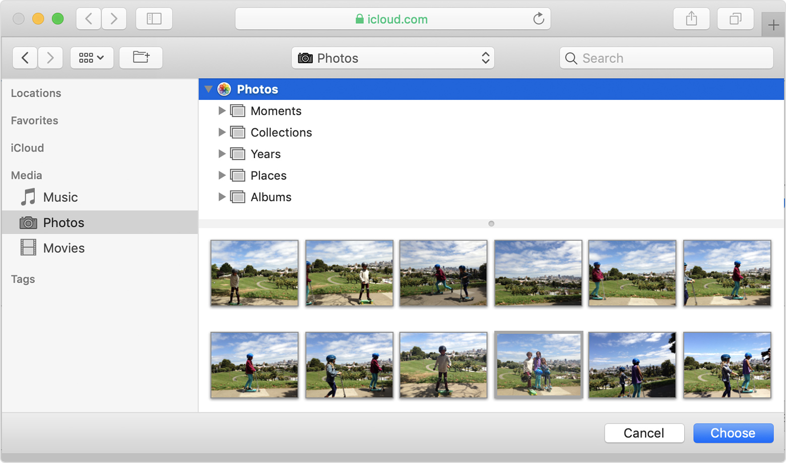 Upload photos from your Mac to a website - Apple Support