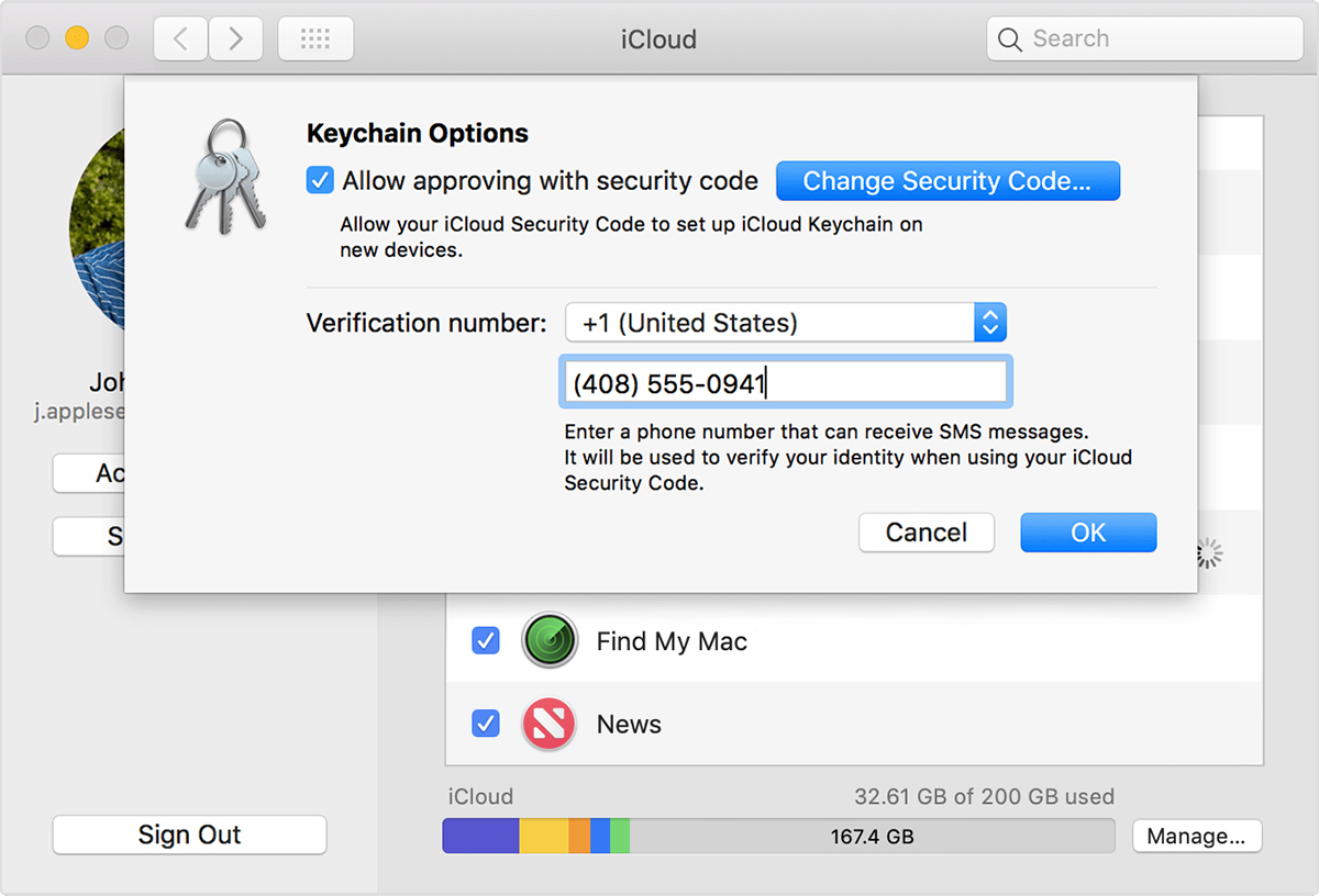 If you enter your iCloud Security Code incorrectly too many