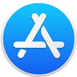 the App Store macOS app icon