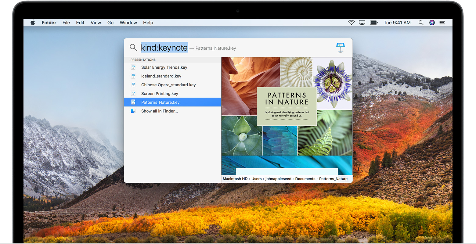 Use Spotlight on your Mac - Apple Support