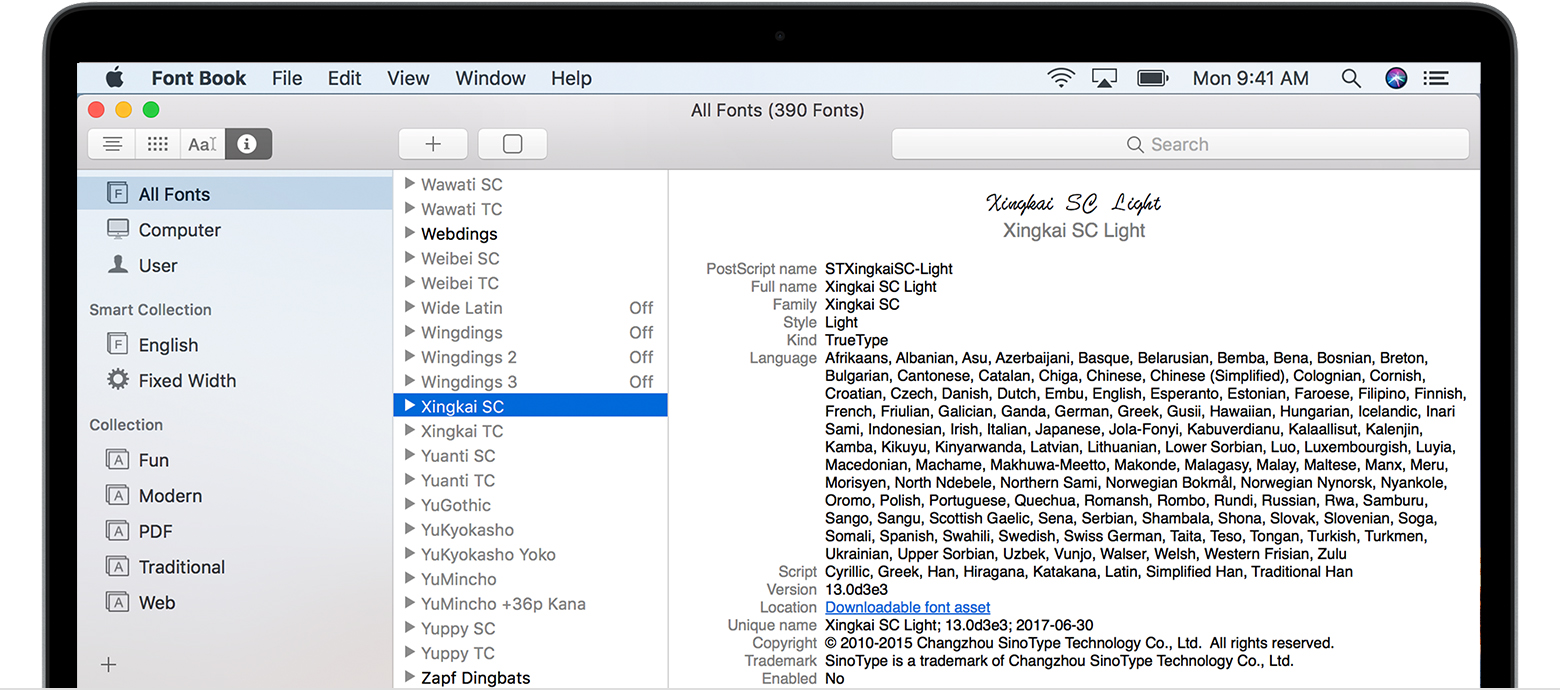 Install A Font On Mac