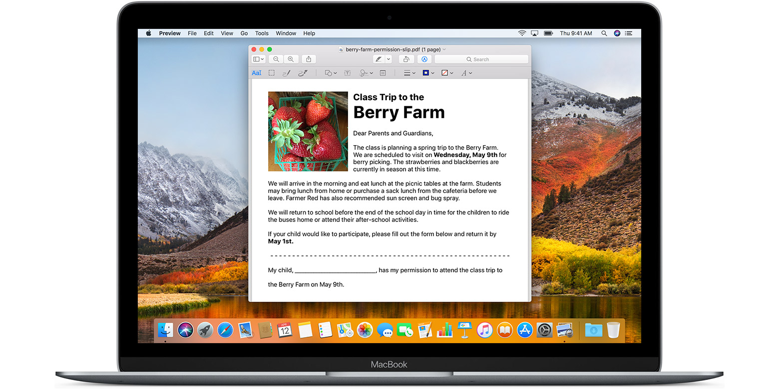 How to edit images and mark up PDFs with Preview on your Mac