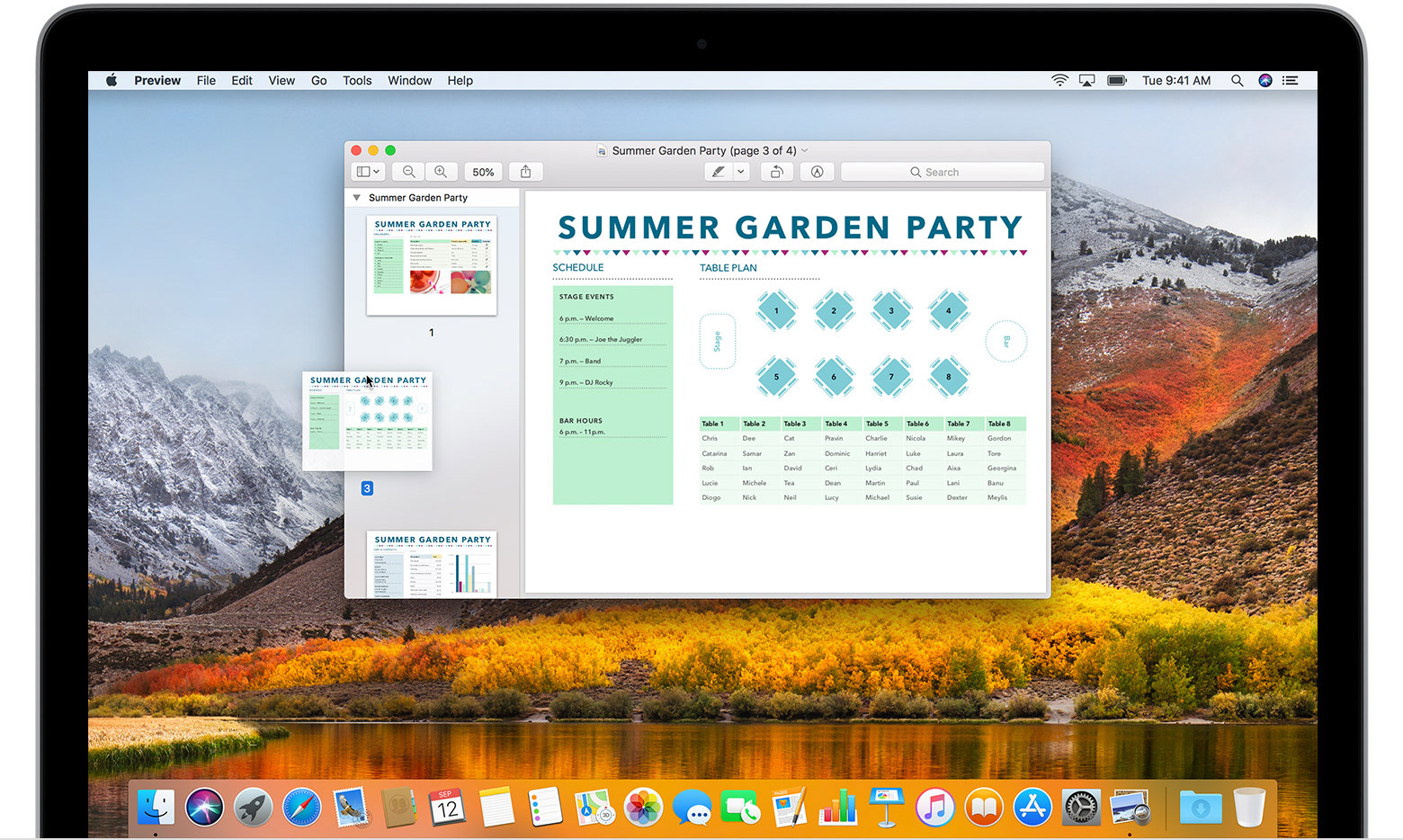 Use Preview to combine PDFs on your Mac - Apple Support