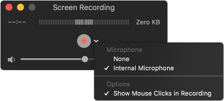 How to use QuickTime to record screen and audio on iPad, iPhone?