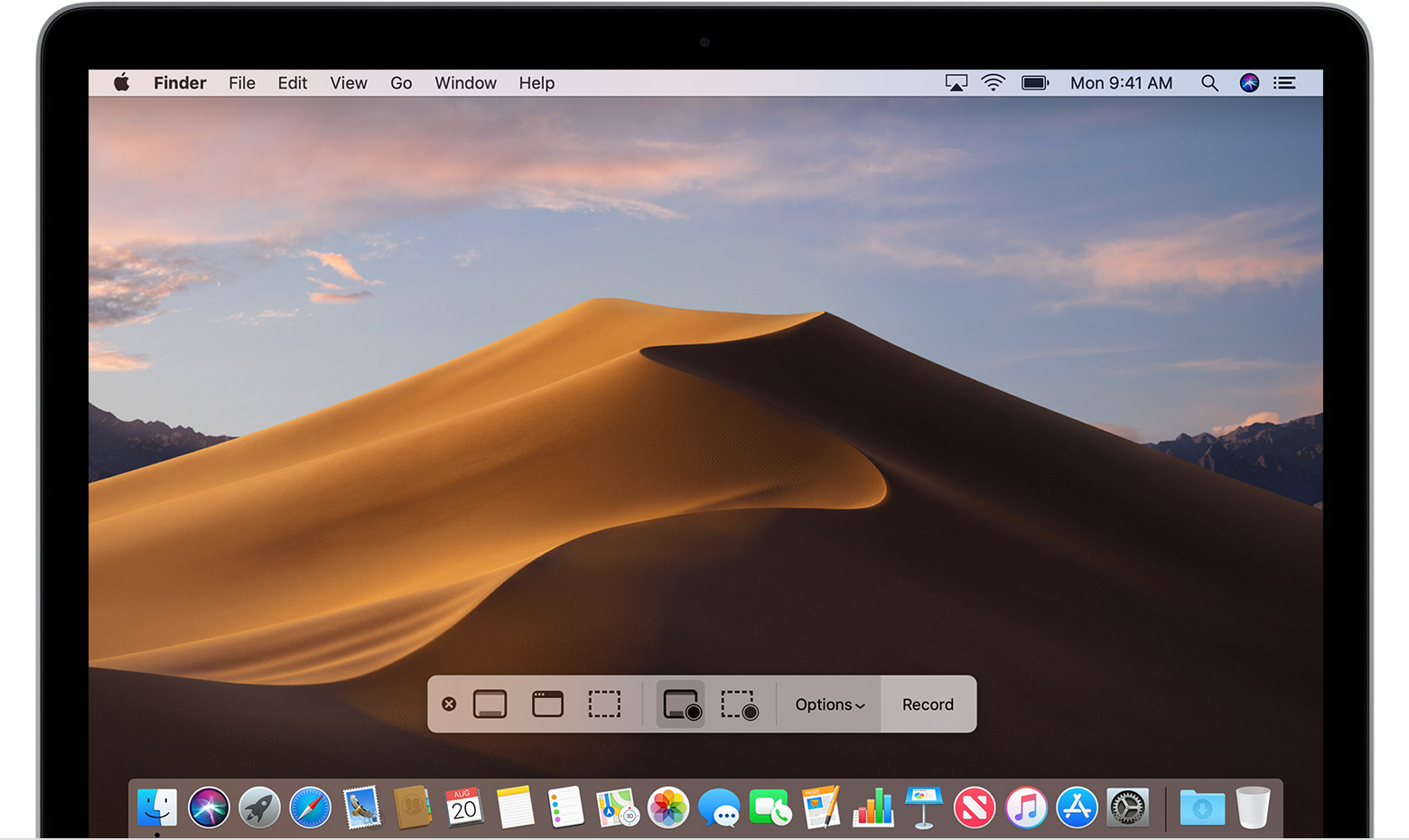 Screenshot macbook mojave