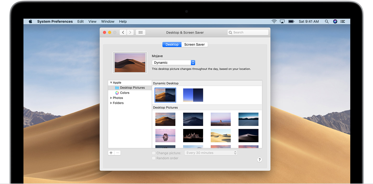 Screenshot apple mac os x 10.13