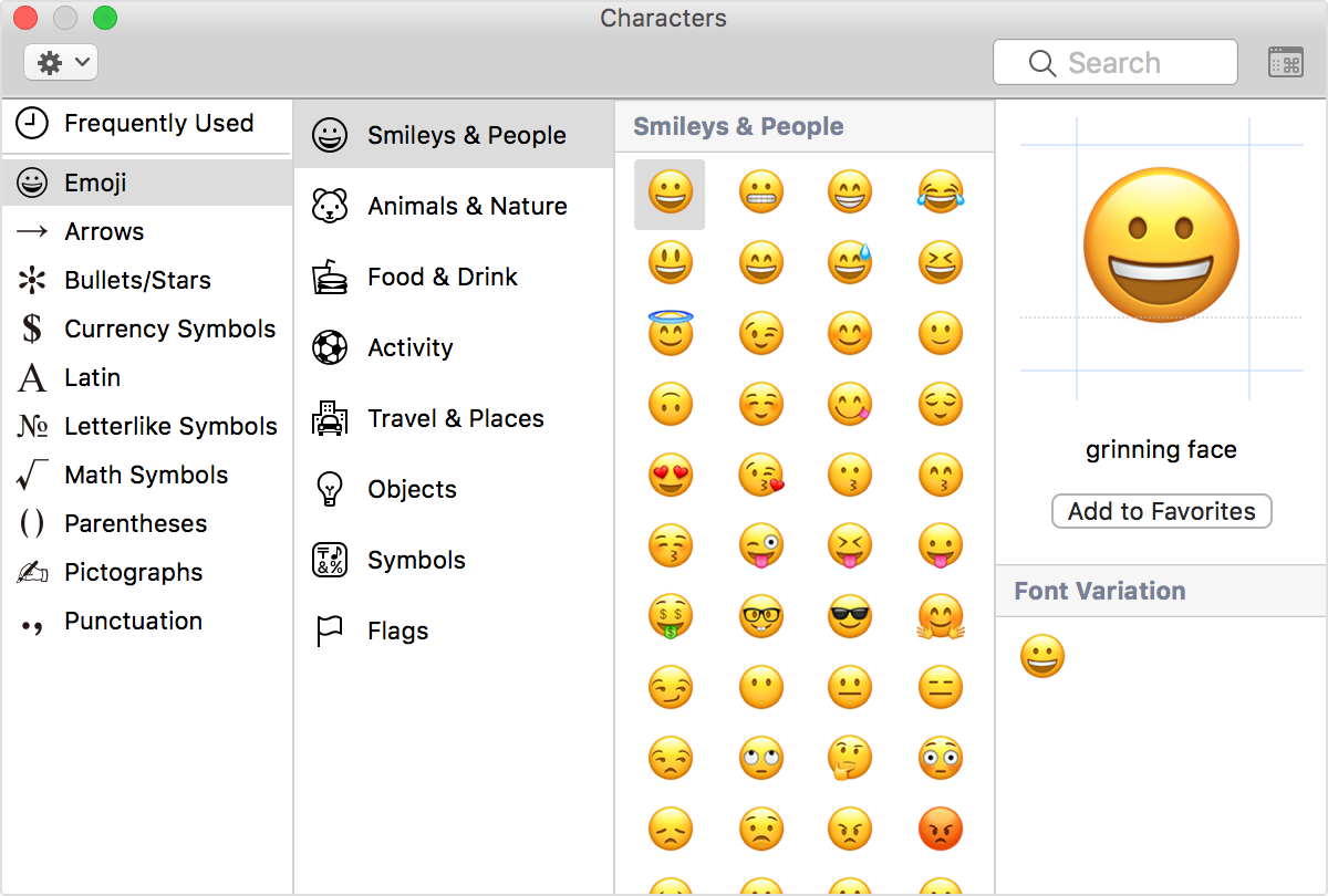 How to type accents emoji and symbols on your mac apple support how to type accents emoji and symbols on your mac biocorpaavc Gallery