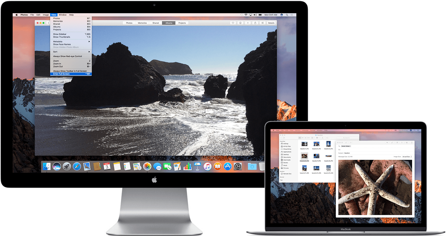 Use Multiple Displays With Your Mac Apple Support