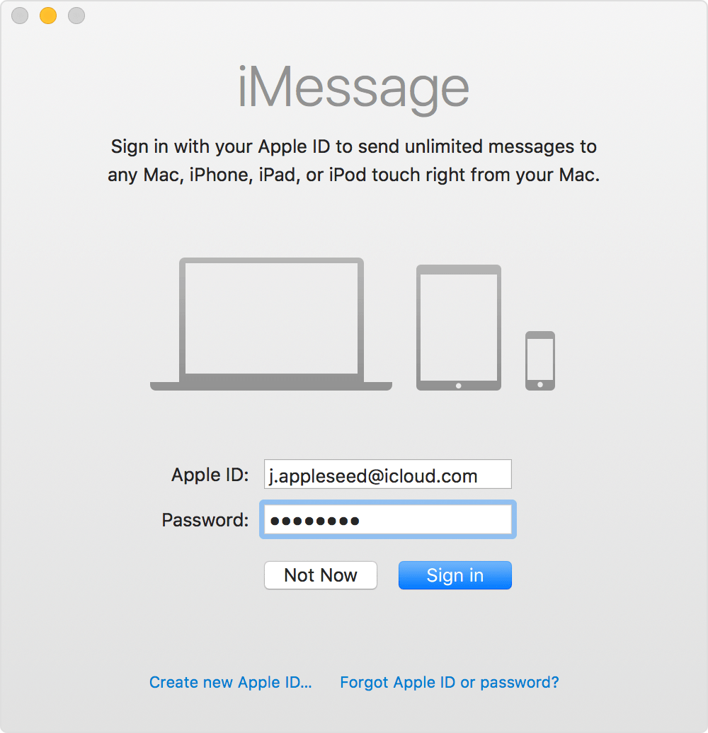 Use Messages with your Mac - Apple Support