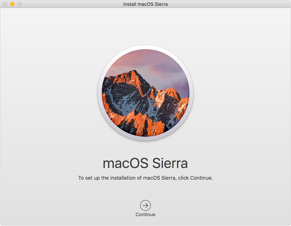 macOS Sierra 10.12.6 From Official App Store