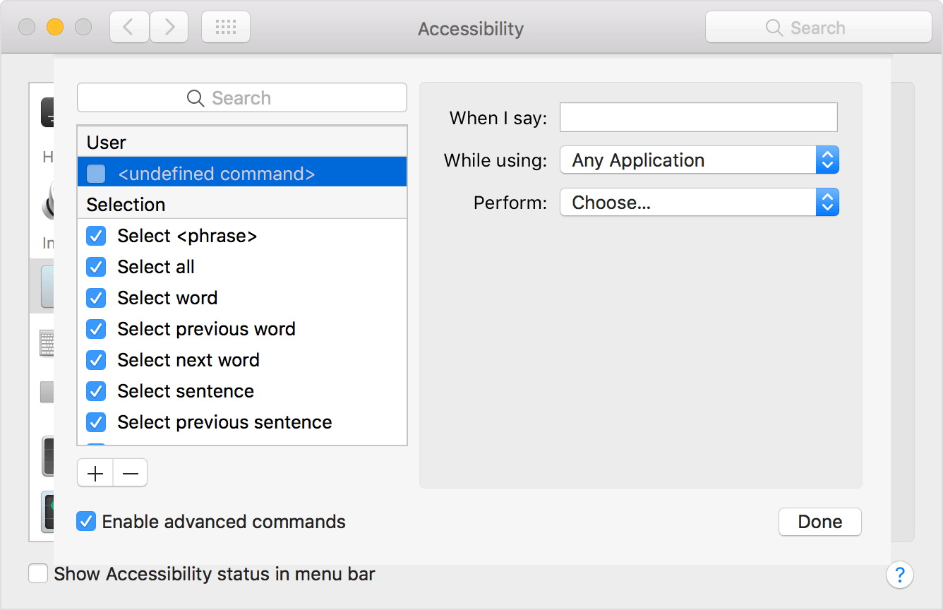 Use Dictation Commands to tell your Mac what to do - Apple
