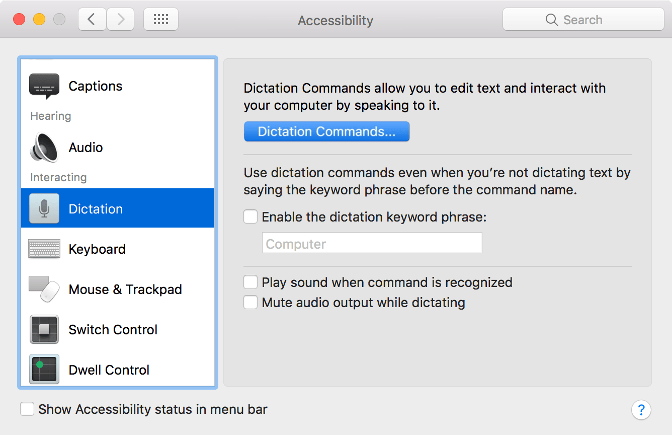 Use Dictation Commands To Tell Your Mac What To Do Apple Support
