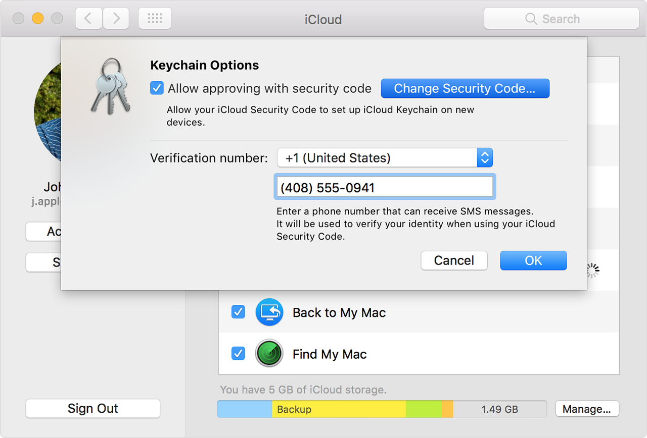 If you enter your iCloud Security Code incorrectly too many times ...