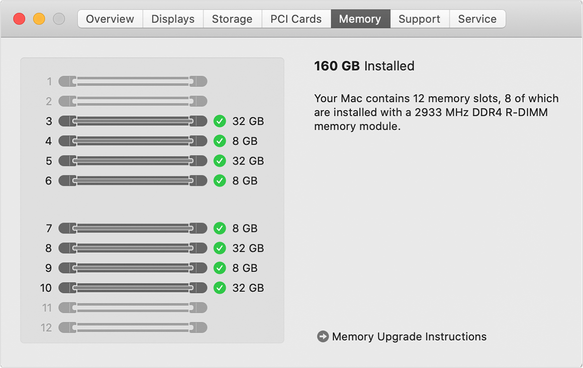 Install And Replace Memory In Your Mac Pro 2019 Apple Support