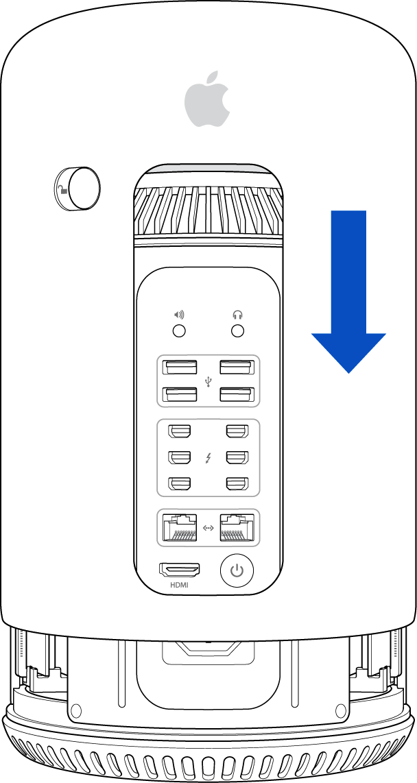 Mac Pro (Late 2013): Installing or replacing memory - Apple