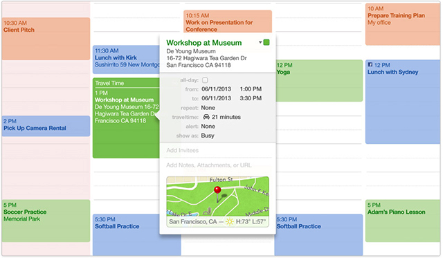 Calendar Apple : Mac basics calendar keeps your appointments apple support