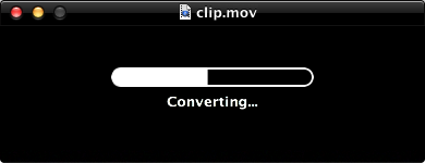 Converting window