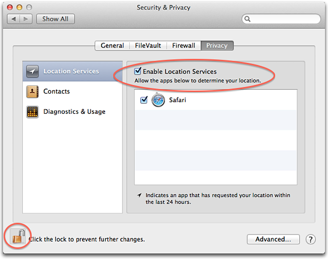 About Location Services in OS X and Safari - Apple Support