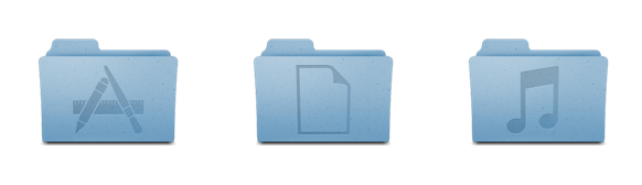 how to set image on a folder on mac