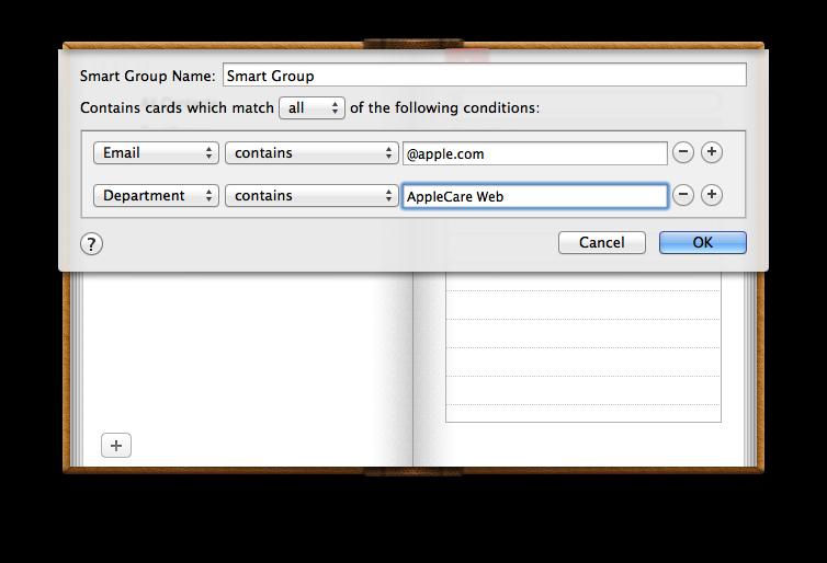 Mac Basics: Address Book - Apple Support