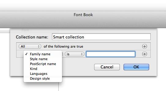 Family Font Name Family Name Style Name