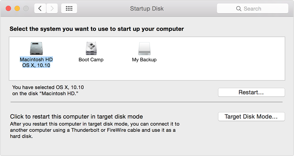 How to choose a startup disk on your Mac to boot from USB