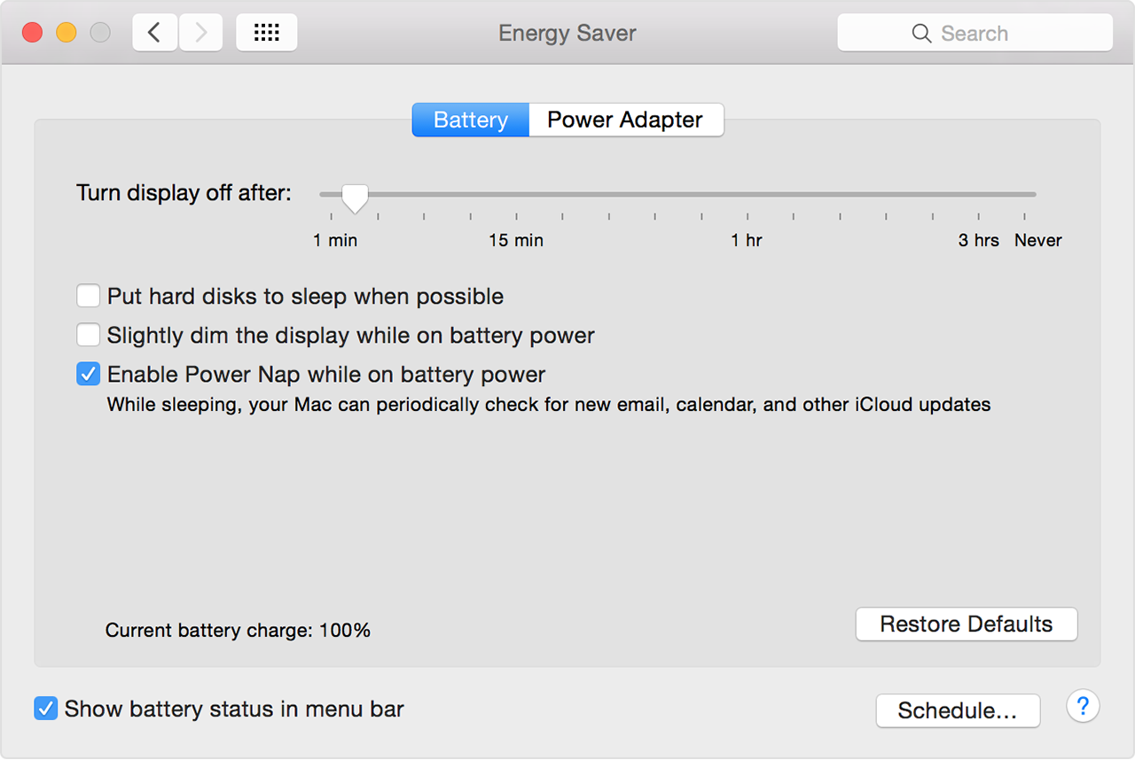 How Power Nap Works On Your Mac Apple Support The Advantage Using This Configuration Is Can Handle Supply With Energy Saver Notebook Computers