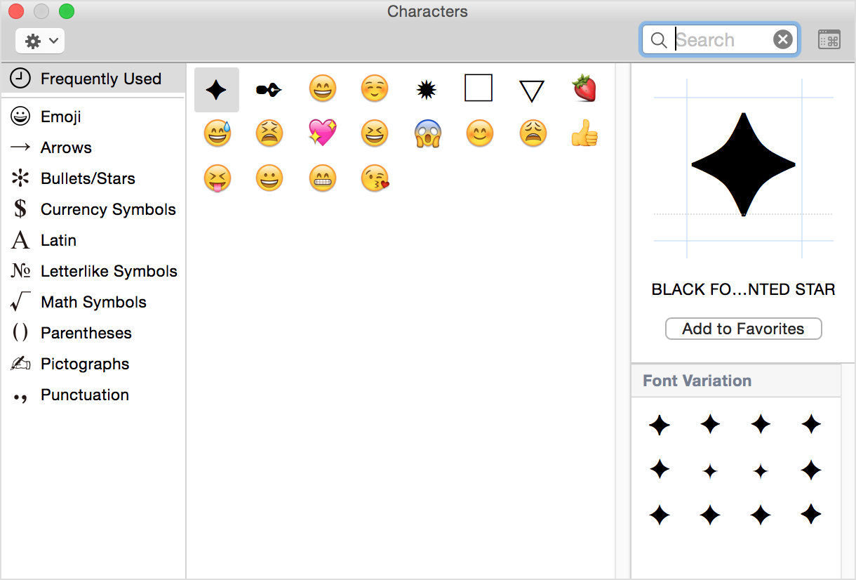 Top Bananas How To Type Unusual Characters In Os X