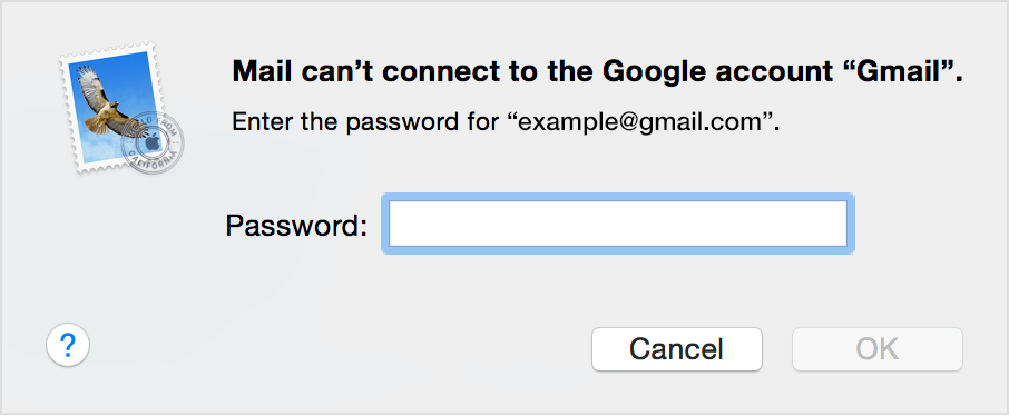 If Mail on your Mac keeps asking for your password - Apple