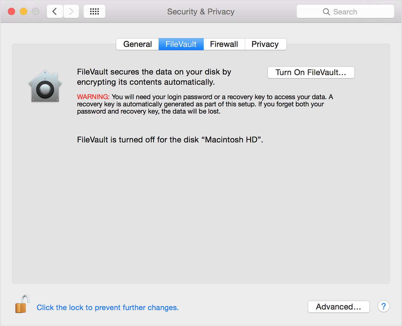 Password Recovery Mac