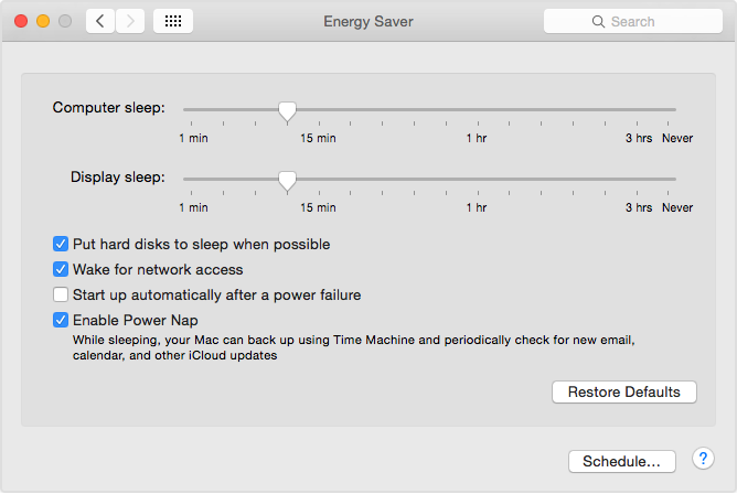 How Power Nap works on your Mac - Apple Support
