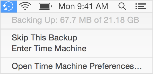 If a Time Machine backup takes longer than you expect