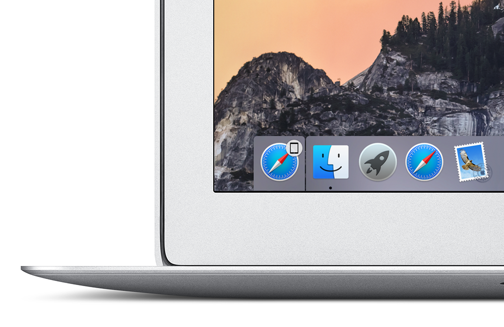how to use iphone as display for mac
