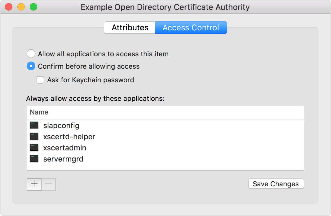 Verify your certificates for macOS Server - Apple Support