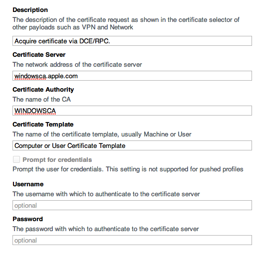 request a certificate from a microsoft certificate authority