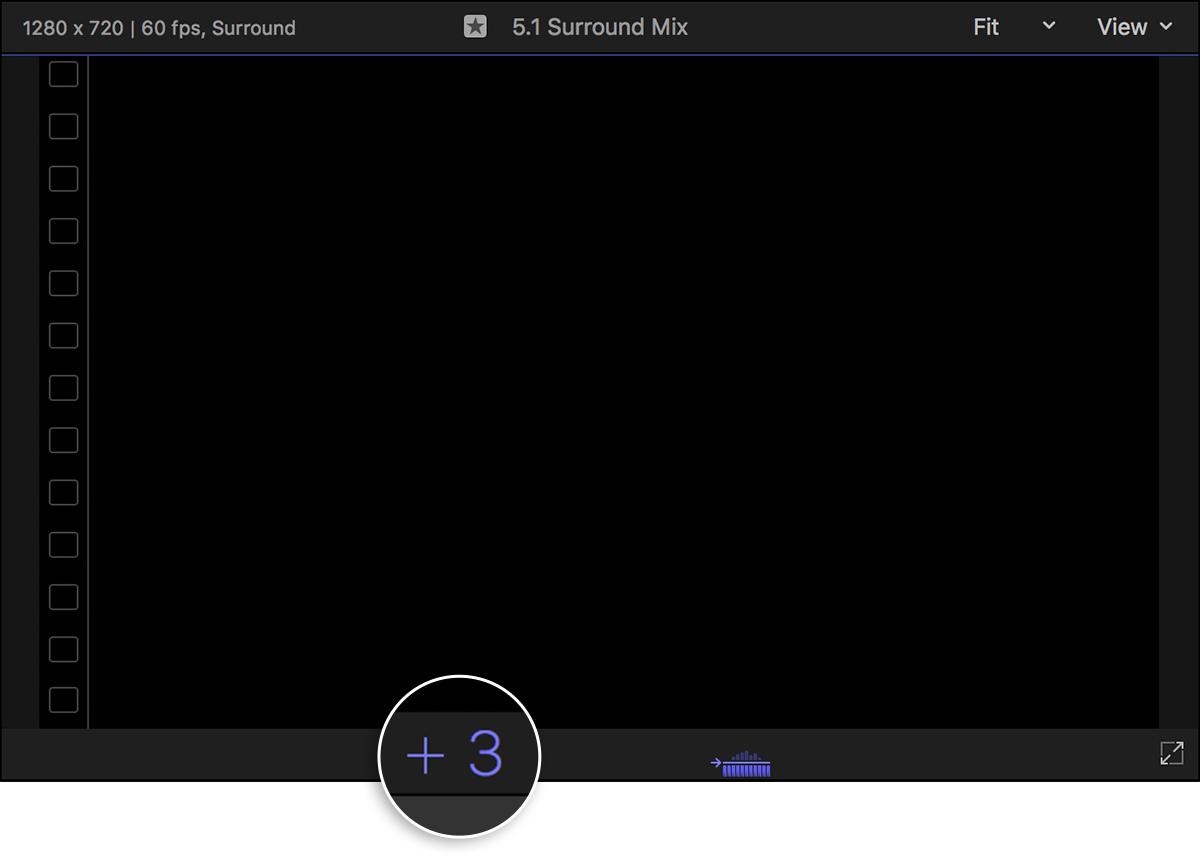 Create a multi-channel MXF file with Final Cut Pro X