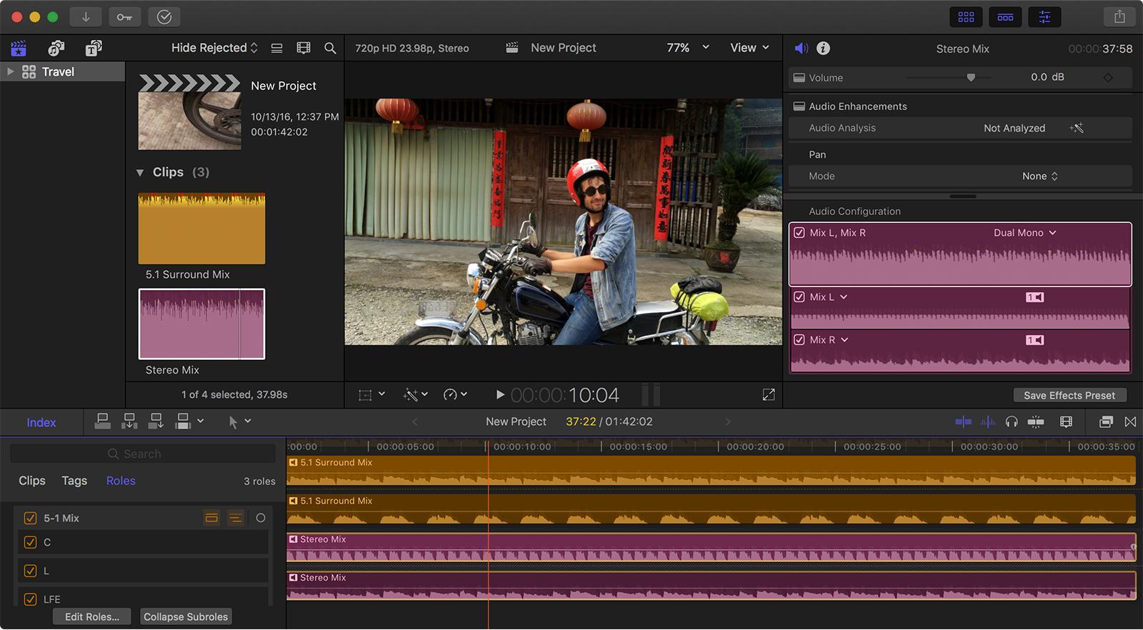 Create a multi-channel MXF file with Final Cut Pro X - Apple