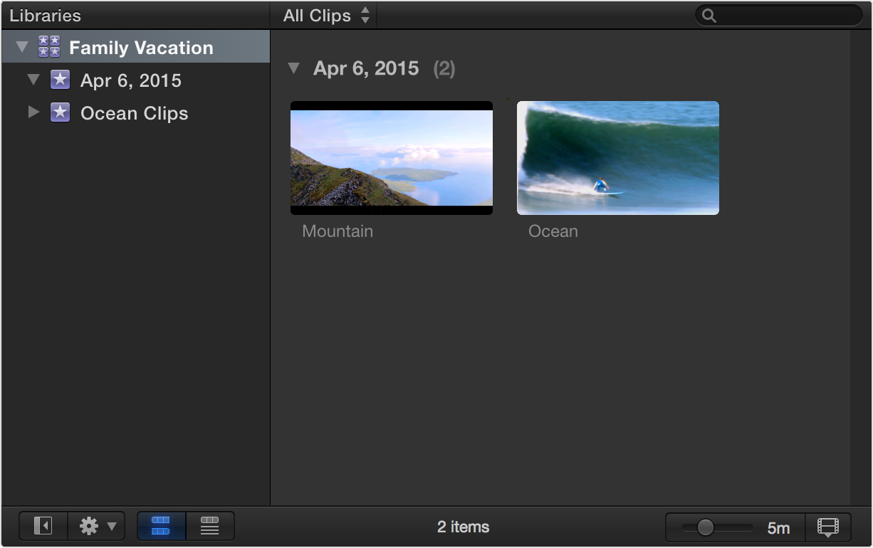 In Final Cut Pro X 10.1 and later, projects are contained in events within Final  Cut Pro X libraries. There is no Project Library in Final Cut Pro X 10.1 ...