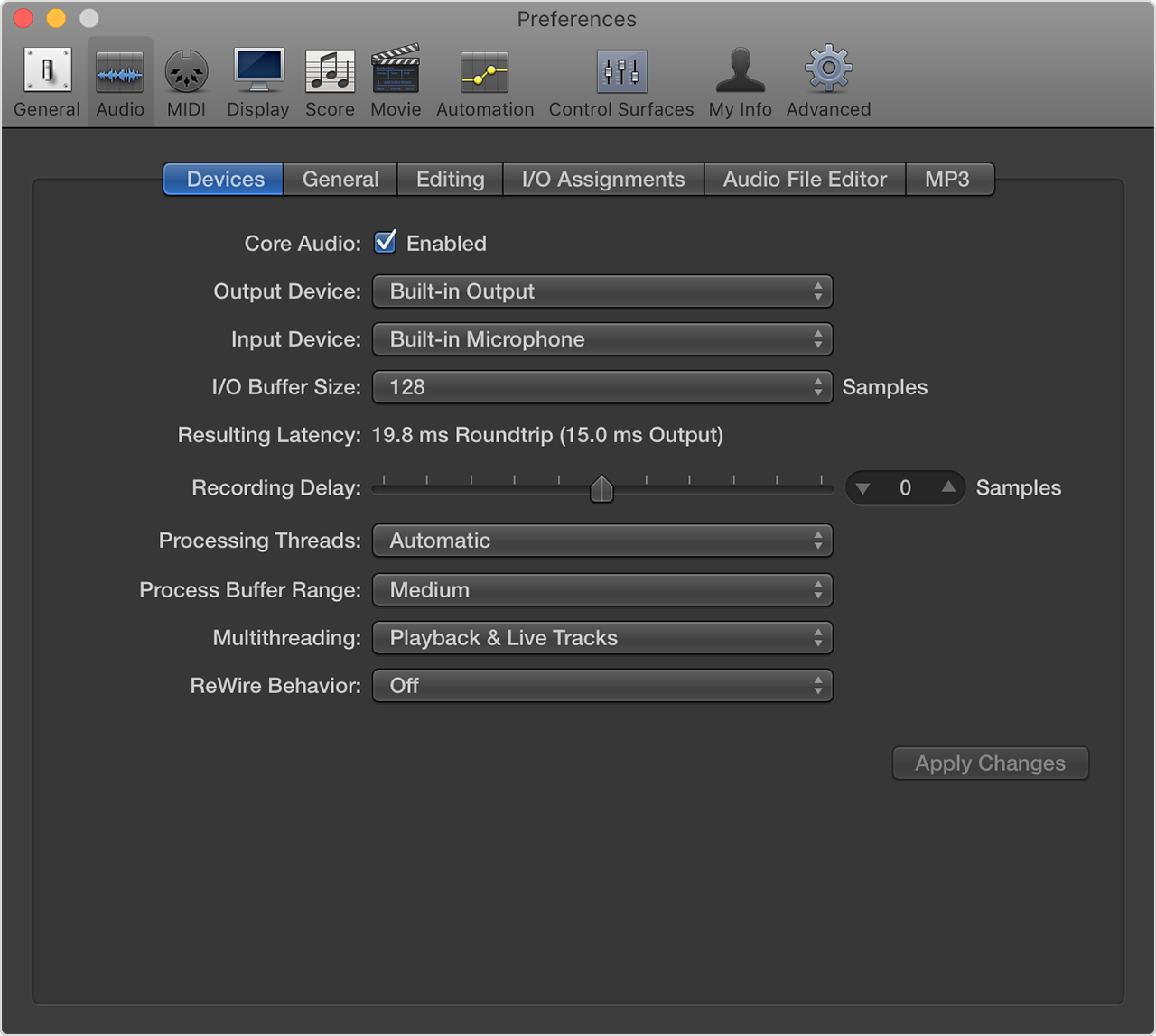 Manage Logic Pro X input monitoring latency - Apple Support