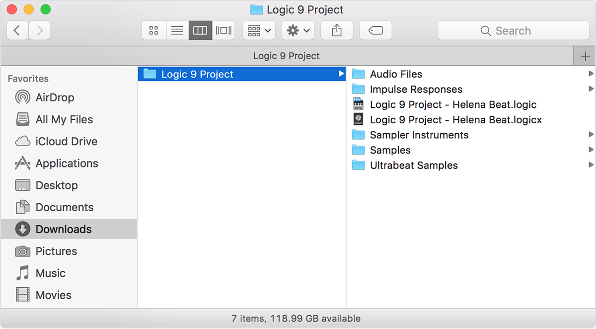 Open older projects in Logic Pro X - Apple Support