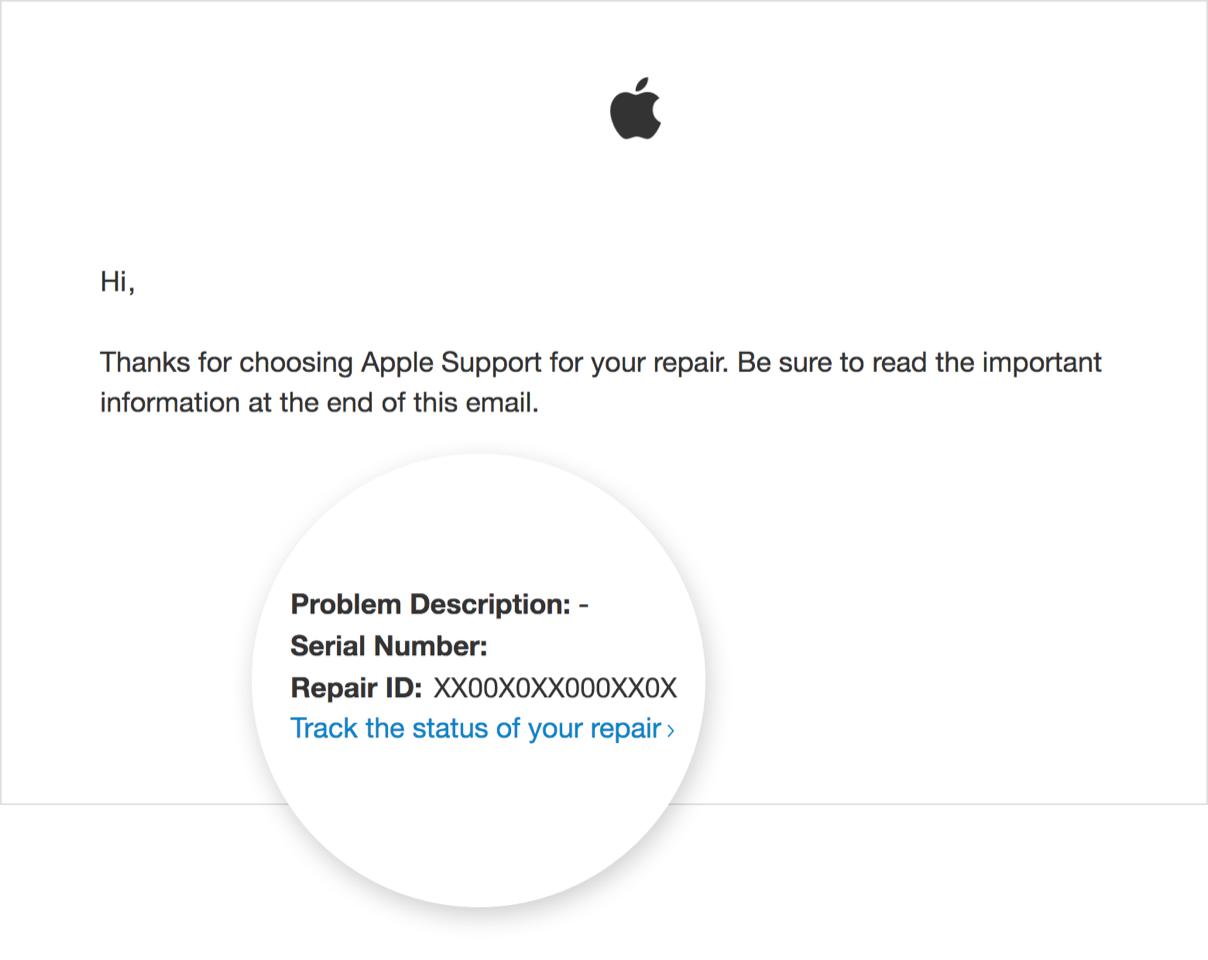 apple servis takip